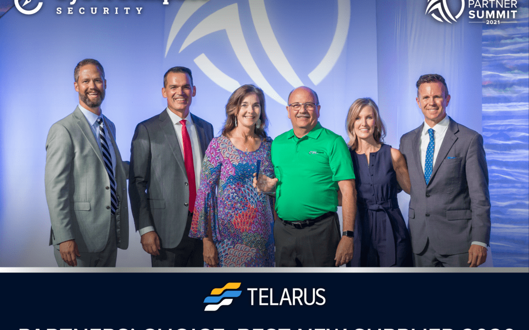 CyberCompass Voted Best New Supplier by Telarus Partners